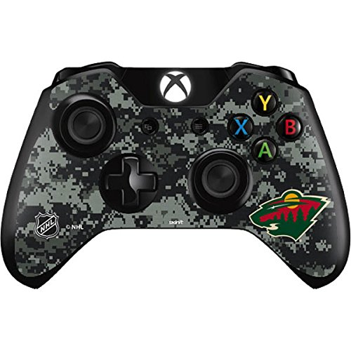 Skinit Minnesota Wild Camo Xbox One Controller Skin - Officially Licensed NHL Gaming Decal - Ultra Thin, Lightweight Vinyl Decal Protection