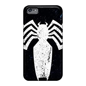 Protector Cell-phone Hard Cover For Apple Iphone 6 (lRc23465wILo) Unique Design High-definition Venom Logo Image