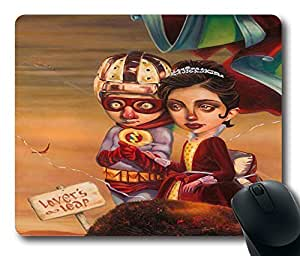 """The Blind Witch Durable Rubber Customized Mousepad Rectangle Mouse Pad 220mm*180mm*3mm (9""""*7"""") -WS82148"""