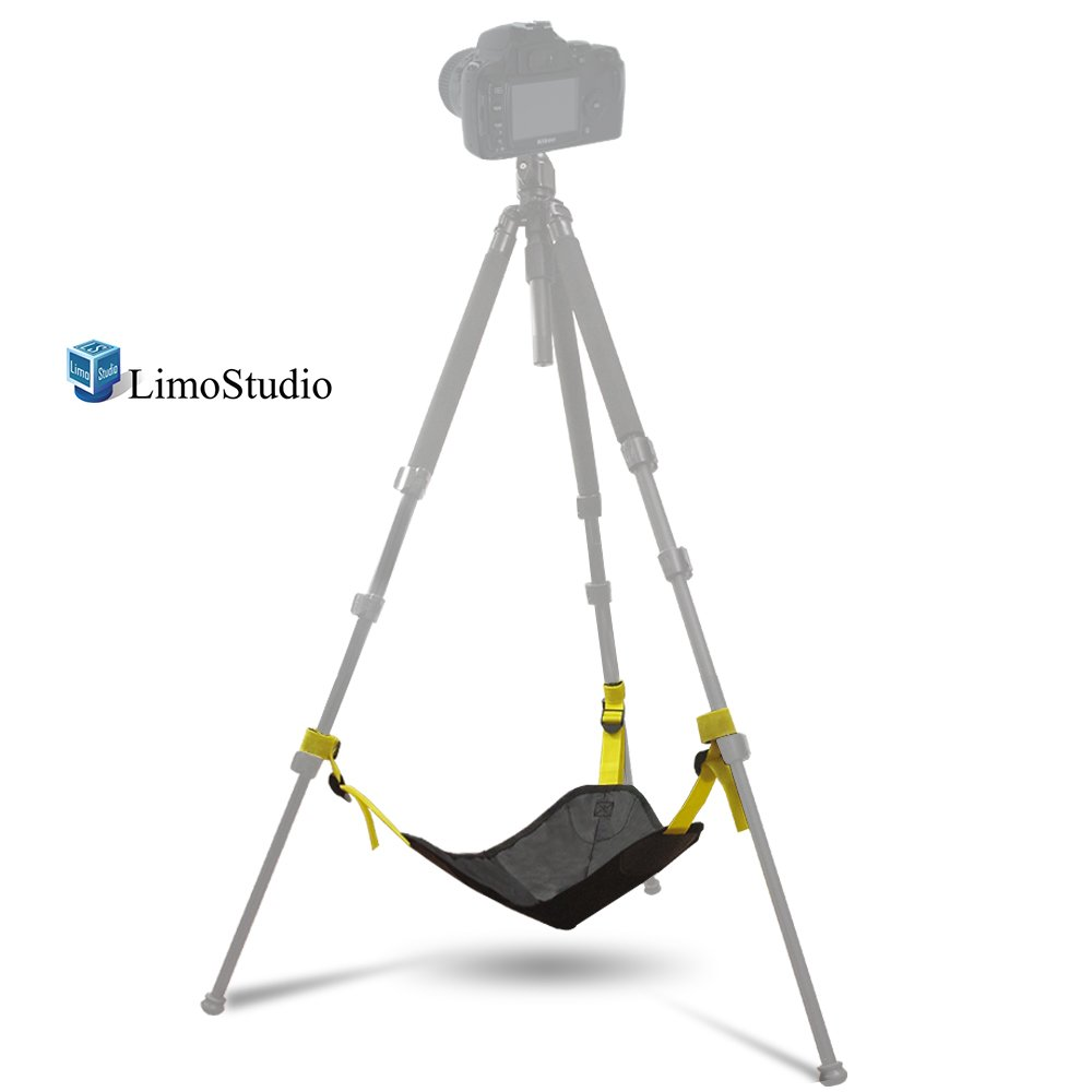 LimoStudio Black Heavy Duty Photographic Studio Video Sand Bag, Stone Bag for Universal Light Stand, Boom Stand and Tripod, Weight Bag, Photography, AGG2251