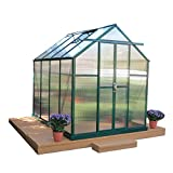 Grandio Element Walk-In Greenhouse Kit (6×8, Heavy Duty Base, Wood Anchors) Review