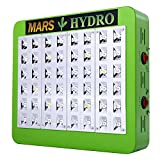 mars hydro Reflector 48 Led Grow Light with 102W True Watt for Hydroponic Indoor Garden and Greenhouse Full Spectrum Veg and Bloom Switches added offers