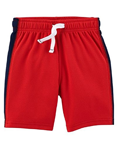 Carter's Baby Boys Pull-On Mesh Shorts - Red (18 Months) ()