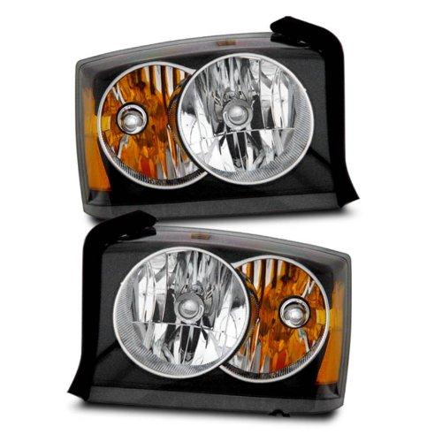 sppc-headlights-black-for-dodge-dakota-pair