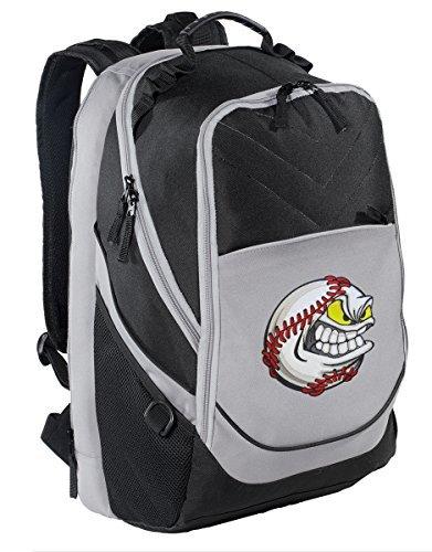 Baseball Backpack Baseball Fan Laptop Computer Bag [並行輸入品]   B07K9WZZB5