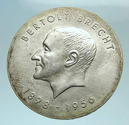 1973 unknown 1973 EAST GERMANY Vintage Antique AR BERTOLT BREC coin Good Uncertified