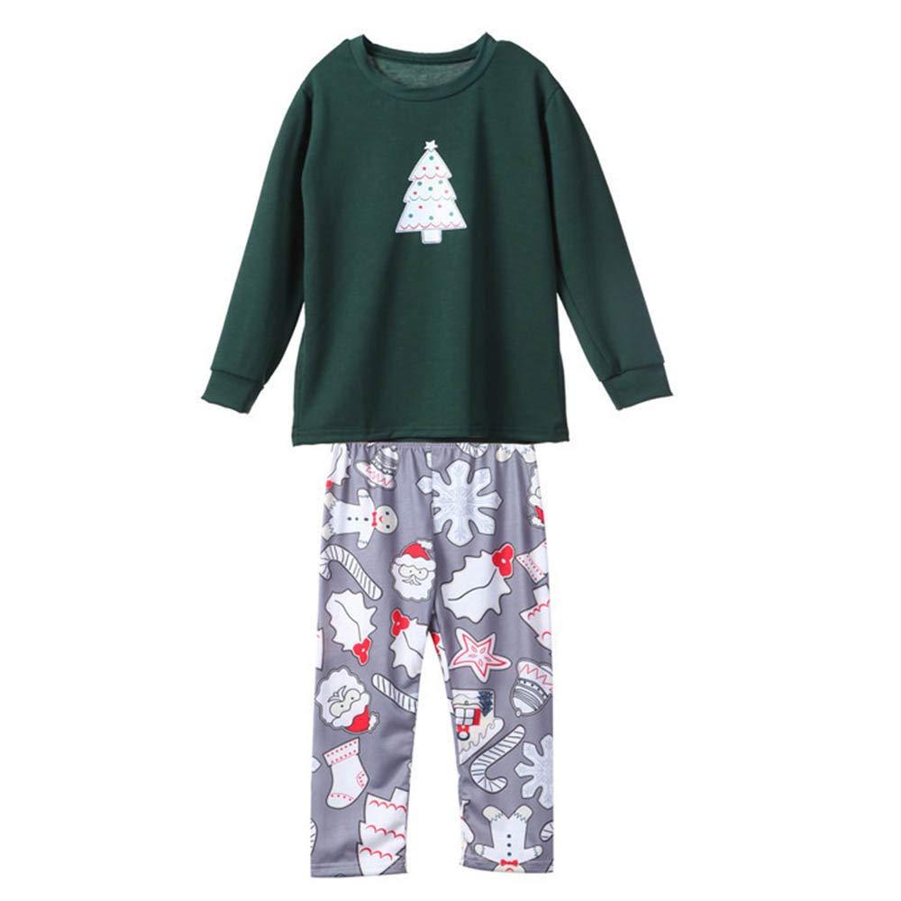 Family Matching Christmas Pajamas Xmas Pajamas Sets Cartoon Sleepwear Sets Homewear Baby Kids Boys Pajama PJ Set Outfit
