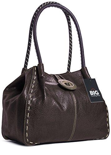 a Handbag Marrone Borsa One Shop spalla Caffè donna Big 7pfPtqt