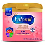 Enfamil A.R. Infant Formula for Spit Up, Powder, 21.5 Ounce Reusable Tub