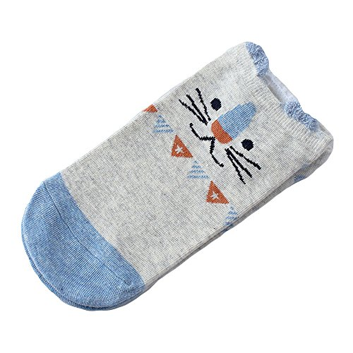 Women Socks Hot Sale WEUIE Women Socks Casual Work Business Cotton Cartoon Cat Fashion Sock Comfortable (Free - Tabi Fashion