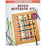Kid Made Modern Woven Notebook Craft Kit - Kids Arts & Crafts | Kid Journal