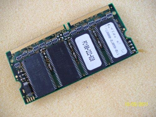 NEC 128MB PC100 100MHz non-ECC Unbuffered 144-Pin SoDimm Memory Module Mfr P/N D45128163G5-A80-9JF
