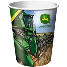 Creative Converting John Deere Hot or Cold Beverage Cups, 8 Count