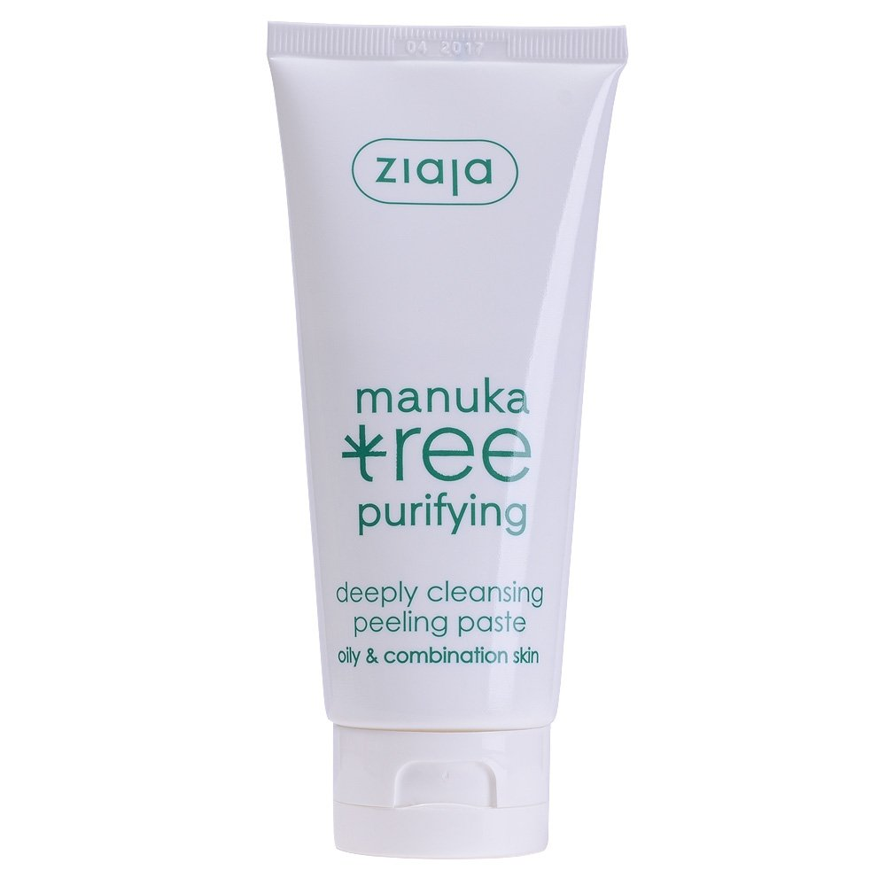 Ziaja Manuka Tree Facial Peeling Paste - Unclogs Pores Reduces Imperfections HealthCentre 5901887029687