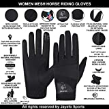 JAYEFO Ladies Horse Riding Gloves Riding Gloves