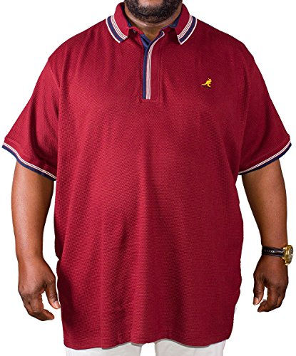 Kangol Herren Poloshirt rot rot XXX-Large