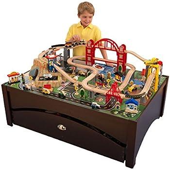 Amazon Kidkraft Metropolis Train Table Set Toys Games