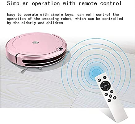 LIGHT Robot Aspirador,Succión Fuerte Aspirador Robot,Diseño ...