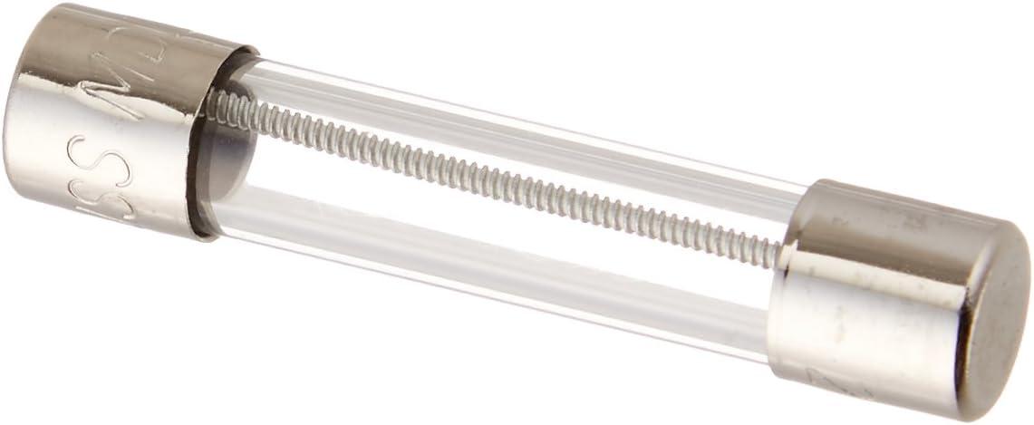 Bussmann MDL-1 Glass Fuse 1 Amp 250 Volt Time Delay Slo-blo 5 pack