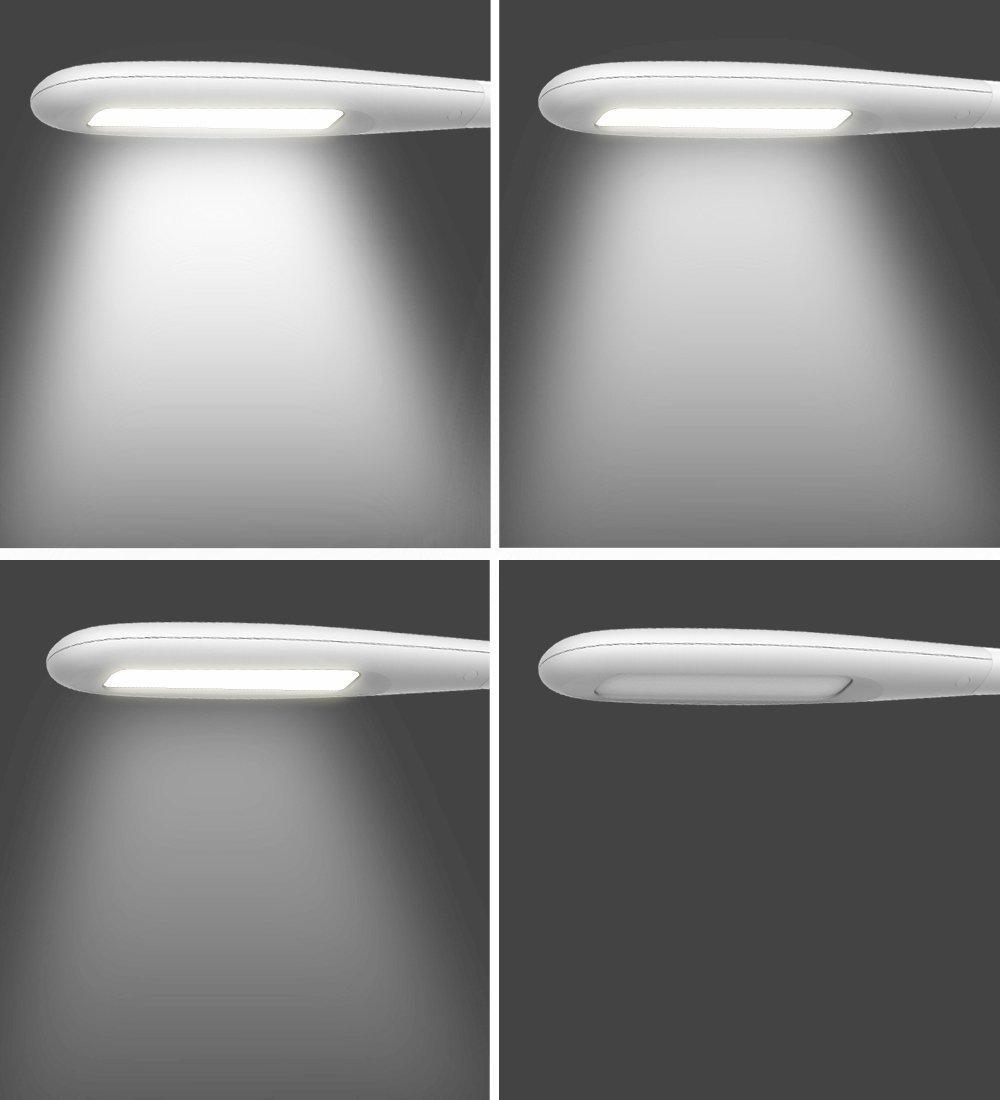 Amazon.com: ToJane Lámpara LED de escritorio, lámpara de ...