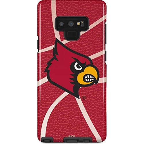 Skinit University of Louisville Galaxy Note 9 Pro Case - Louisville Red Basketball Design - High Gloss, Scratch Resistant Phone Cover ()