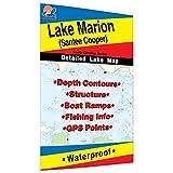 Lake Marion Fishing Map (Santee Cooper)