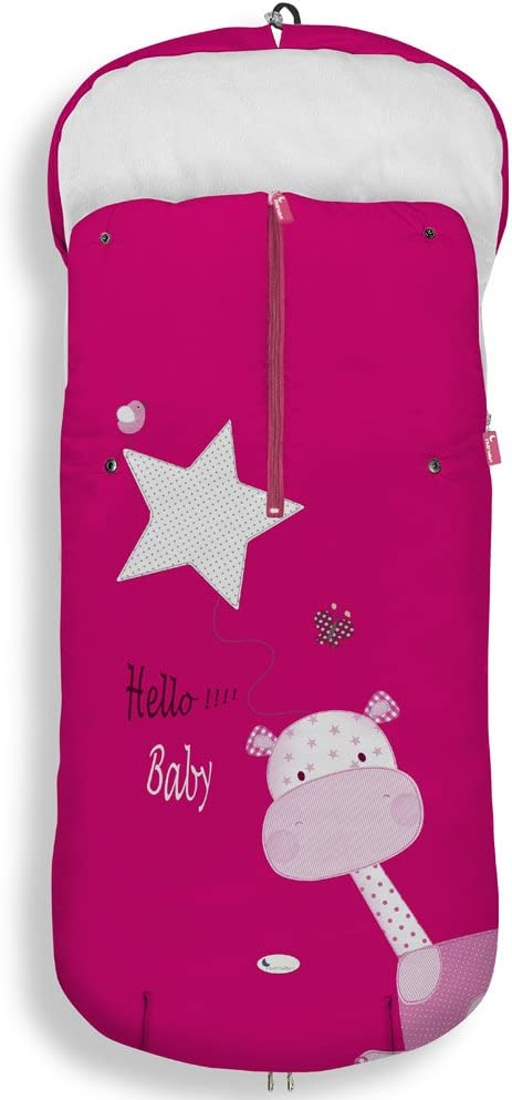 saco carro universal impermeable interbay jirafa hello baby
