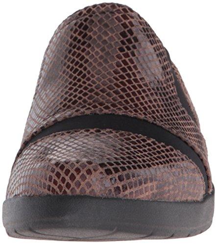Shiny Python Demsa on Women's Slip Taupe Devona New Loafer Rockport xzRw6W6