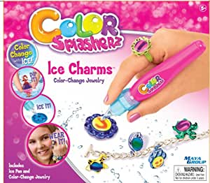 color splasherz ice charms jewelry making kit