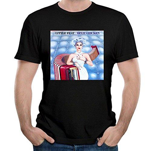 - FOURROUNI Fashion Men's Little Nice Fe niceat Dixie Chicken Tees Shirt Short Sleeve T Shirt XX-Large