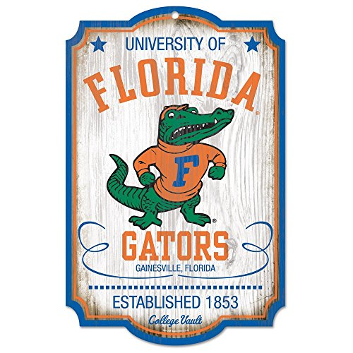 WinCraft Florida Gators Official NCAA Sign 11x17 Wood by 744333 by WinCraft