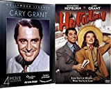 Meet Cary Grant Holiday + Classic Movie Collection Penny Serenade / His Girl Friday / Amazing Adventure / Once Upon A Time 5 Film DVD set