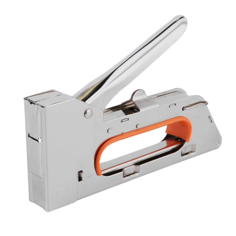 WinnerEco Industrial Concrete Nailer, U Shape Manual Nail Staple Gun Furniture Stapler Industrial Wood Door