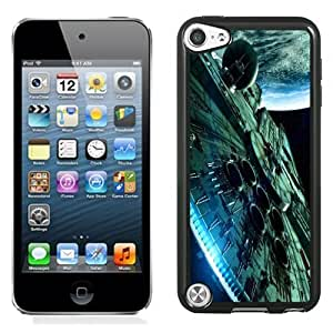 NEW Unique Custom Designed iPod Touch 5 Phone Case With Star Wars Spaceship Science Fiction_Black Phone Case