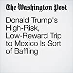 Donald Trump's High-Risk, Low-Reward Trip to Mexico Is Sort of Baffling | Philip Bump