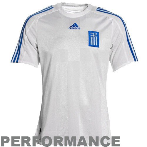 Greece Home Soccer Jersey (Medium)