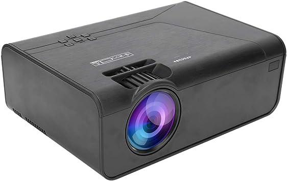 Opinión sobre Qiter Oficina del proyector HDMI del proyector portátil del Audio Claro para el hogar(European regulations)