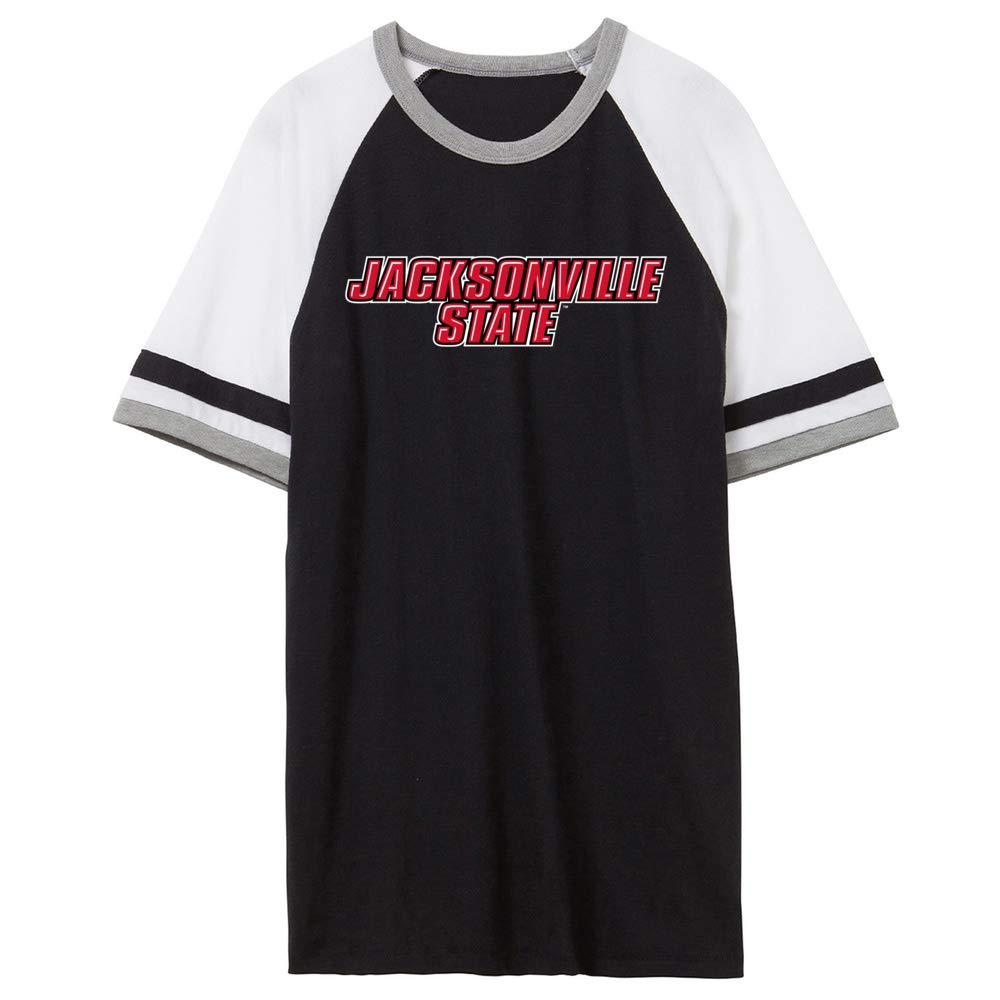 NCAA Jacksonville State Gamecocks PPJVSU04 Unisex Slapshot Vintage Jersey T-Shirt