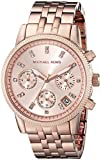 Michael Kors Women's Ritz MK6077 Rose Gold Stainless-Steel Quartz Watch