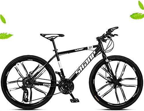 Bicicleta Plegable de 26 Pulgadas Fat Tire Motos de Nieve Bicicleta de Montaña, 21/24/27/30 Spee, Doble Freno de Disco de Bicicletas,Negro,21 Spee: Amazon.es: Bricolaje y herramientas