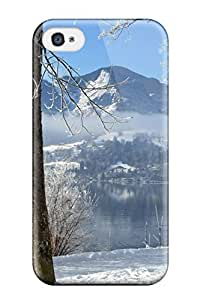 Hxy VykaAfH7407OrWeq Case For Iphone 4/4s With Nice Winter Appearance