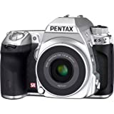 New Pentax K-5 Dslr Camera Silver Edition with Da40mmf2.8 Xs Silver Lens For Sale