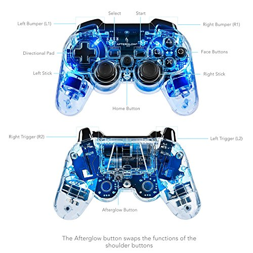 how to connect an afterglow ps3 controller