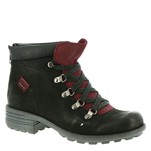 Rockport Cobb Hill Collezione Brunswick Alpine Womens Boot Nero Nubuck
