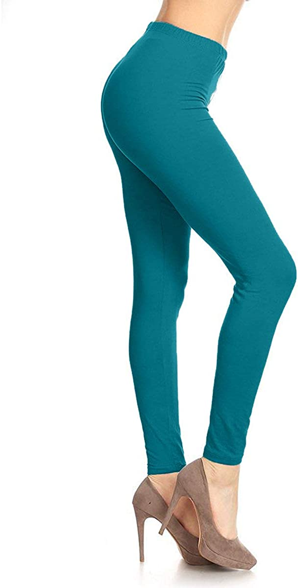 Leggings Depot High Waisted Leggings Solid Colors /& 1000 Soft /& Slim Prints