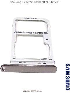 Pour Samsung Galaxy S8 G950f S8 Plus G955f Tiroir Carte Double Sim