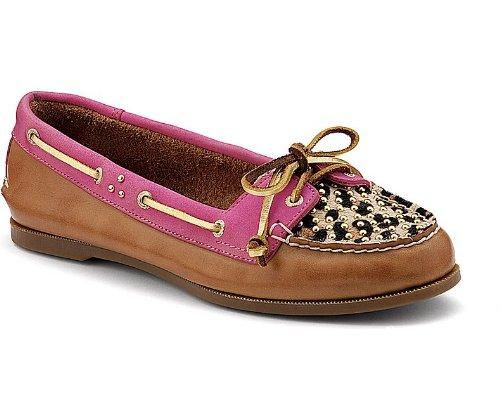 Sperry Topsider Women's Shoes Audrey Boat Shoe 9288127 9.5 M Cognac