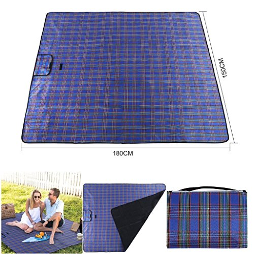 New Waterproof Extra Large Outdoor Home Garden Picnic Blanket Sand Beach Rug Mat Pad by New