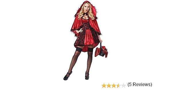 Generique - Disfraz Caperucita Roja Sexy Mujer M: Amazon.es ...