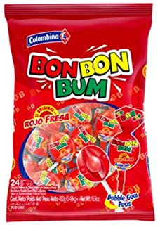 Amazon.com : Colombina Fun Mix Pop Madness Lollipops Multi ...